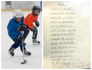 I Scored A Goal - Poem by Robby Davis (age 7)