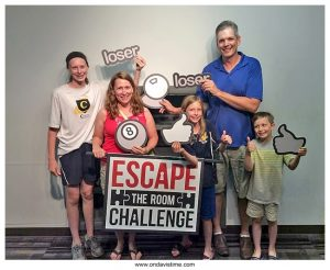 Teamwork Required for a Great Family Escape