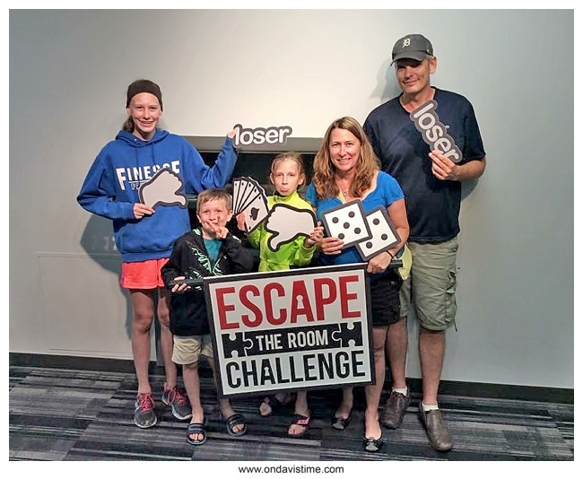 The Mob got us - Escape the Room Challenge, West Chester, OH