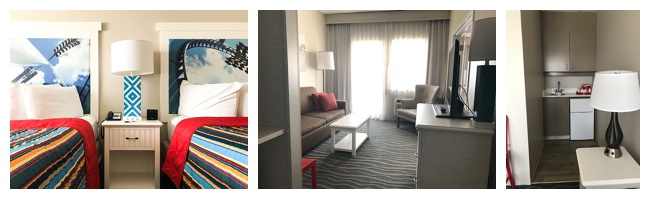 A recently remodeled suite at Hotel Breakers